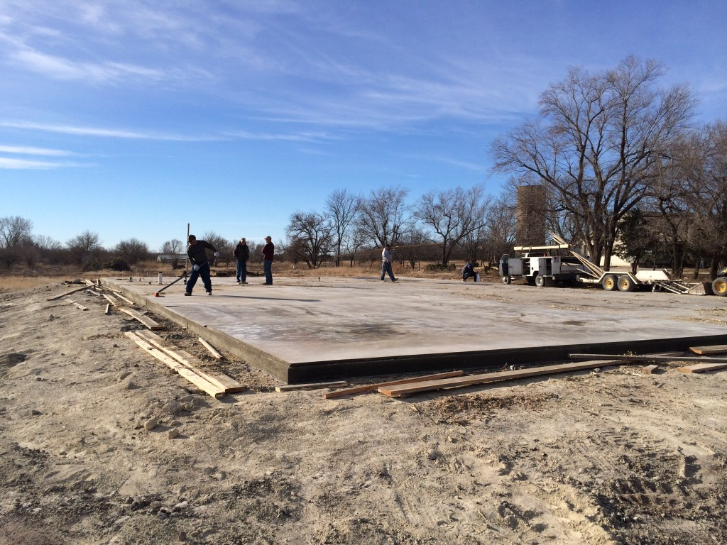Commercial Concrete Services | Wichita Commercial Concrete Contractor
