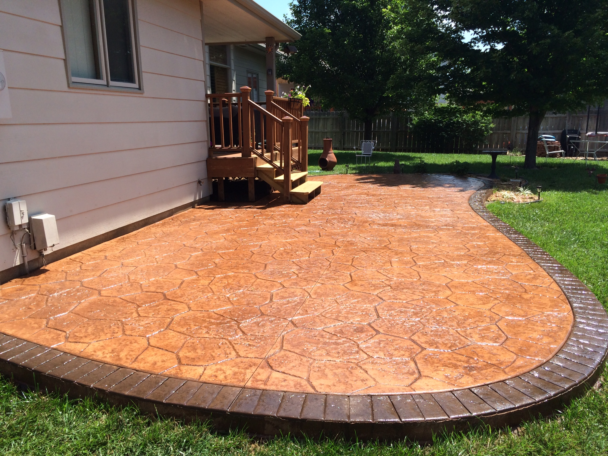 Patio pavers can transform your backyard patio pavers for wichita - Paver designs for backyard ...