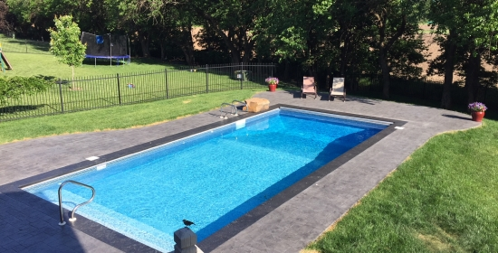 Concrete Swimming Pool Decks Archives | E & J Concrete and Dirt Work