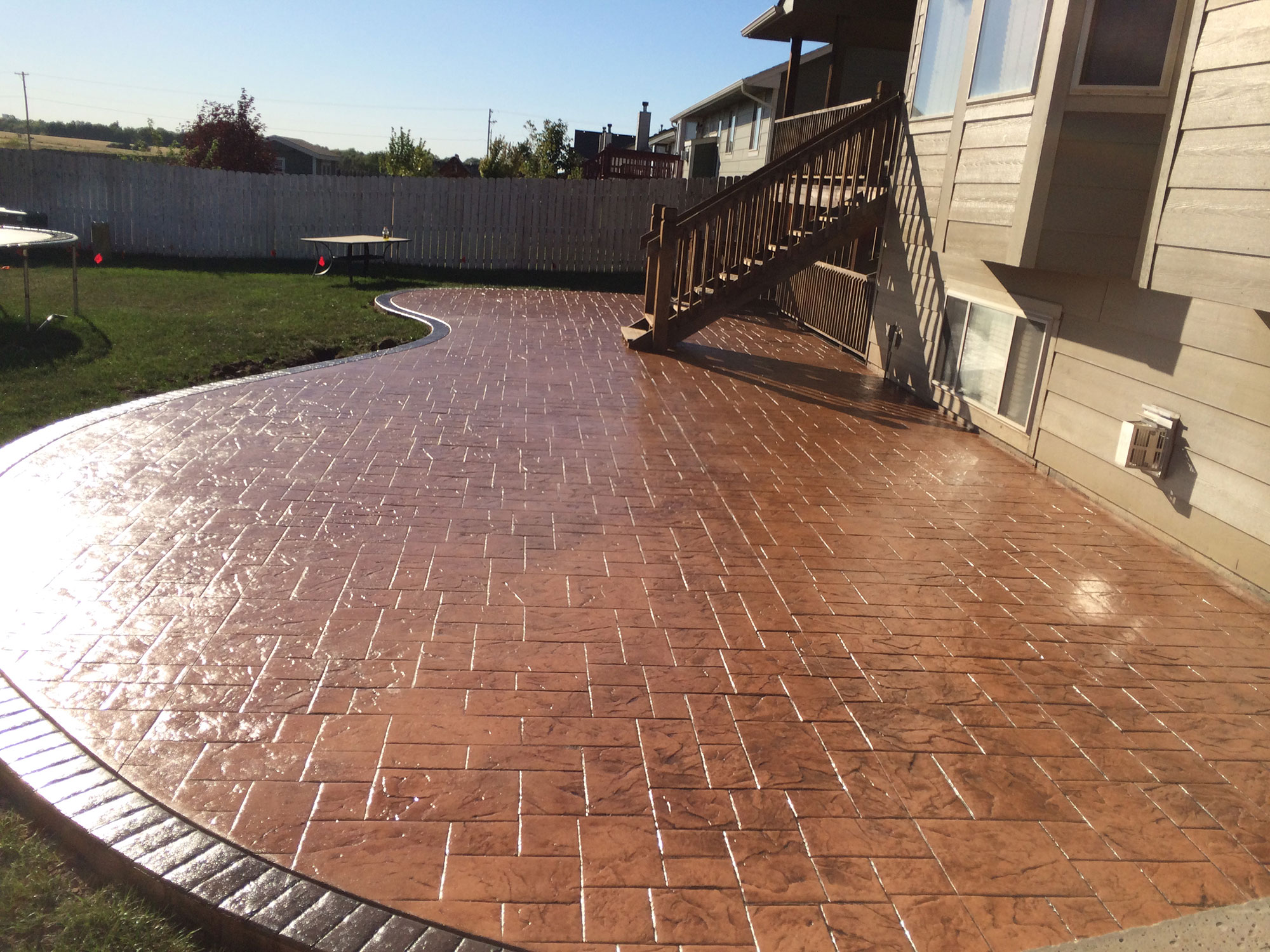 Stamped Concrete | Decorative Concrete | Colored Concrete ...