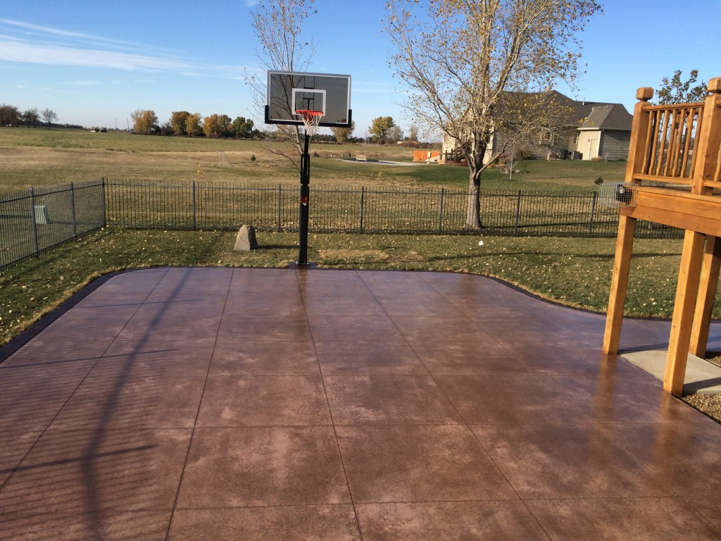 Concrete Basketball Courts | Wichita Basketball Court Concrete Contractor
