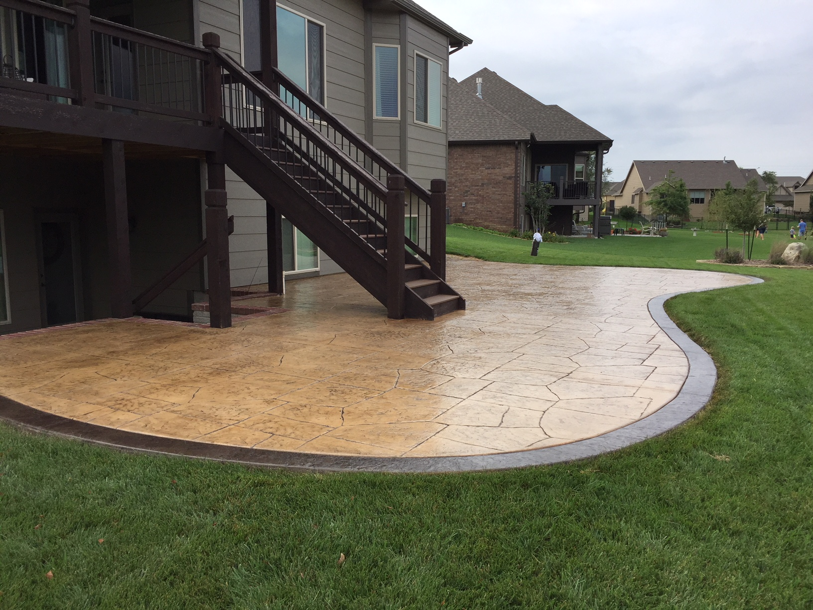 Concrete Patio Wichita | Backyard Ideas