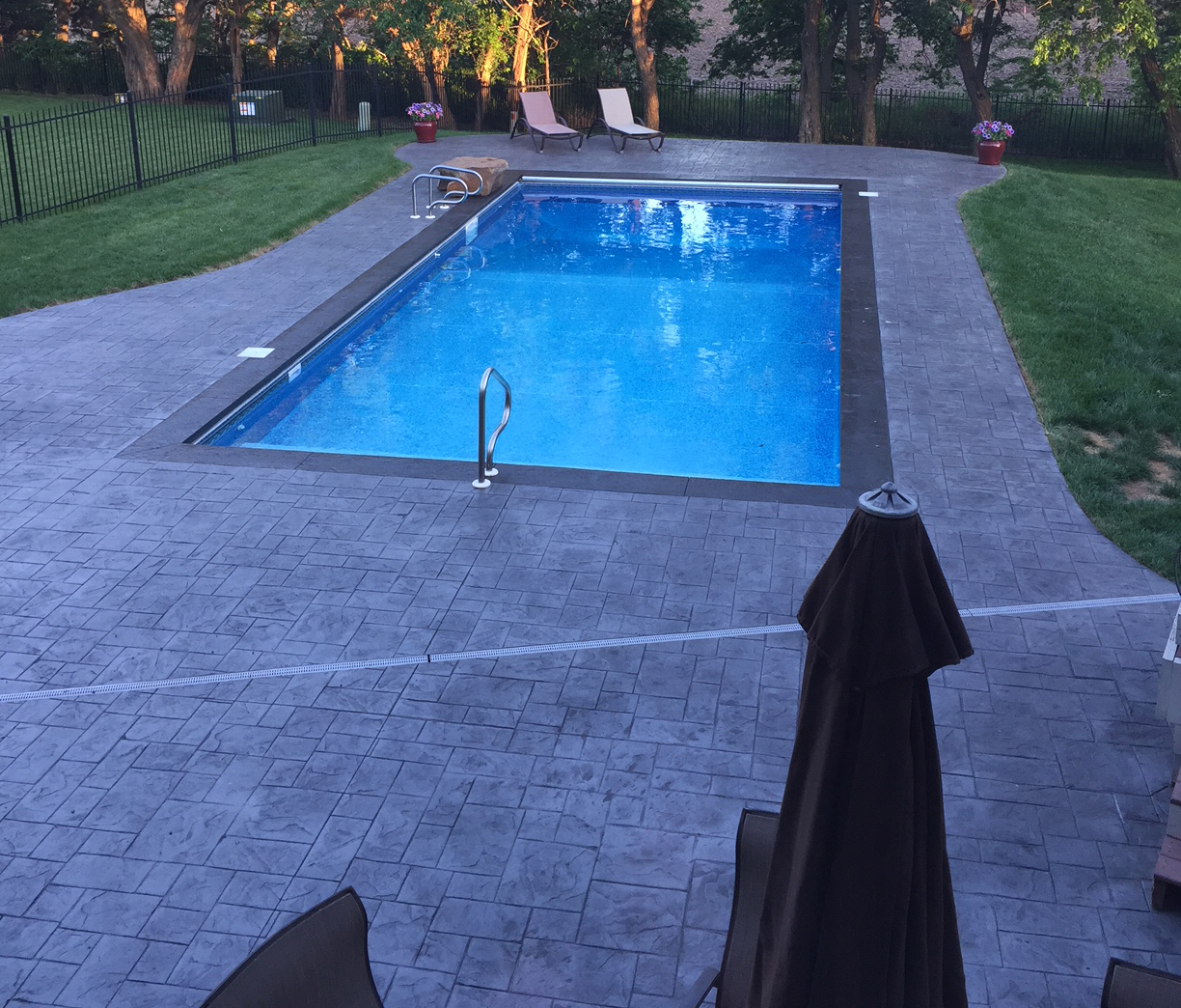 Pool Decks | E & J Concrete and Dirt Work