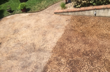 Concrete Resealing | Before And After