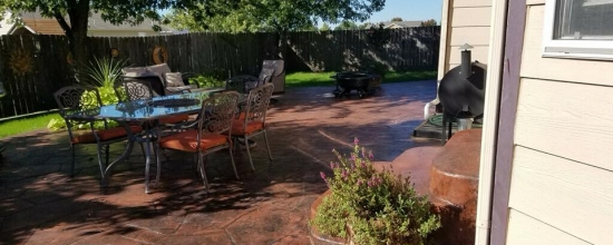 Backyard Patio Restoration   Before And After